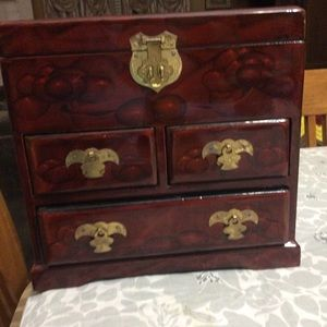 Vintage Japanese Jewelry Box